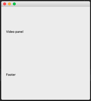 Image of not-working QMediaPlayer in MacOS